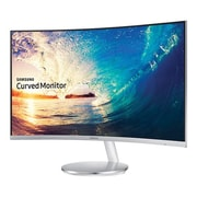 "Samsung LC27F591FDNXZA 27"" Curved LED Monitor, Silver"