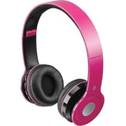 iLive™ IAHB16P Wireless Bluetooth Headphones, Pink