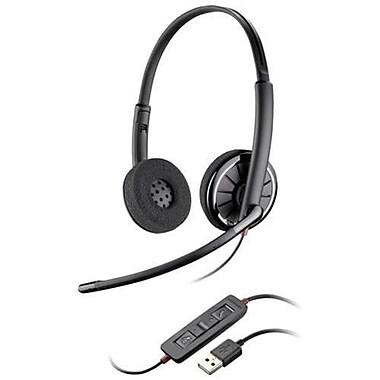 Plantronics® Blackwire® C320-M Monaural Headset, Black