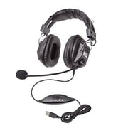Califone® 3068 Headset with Boom Mic, Black