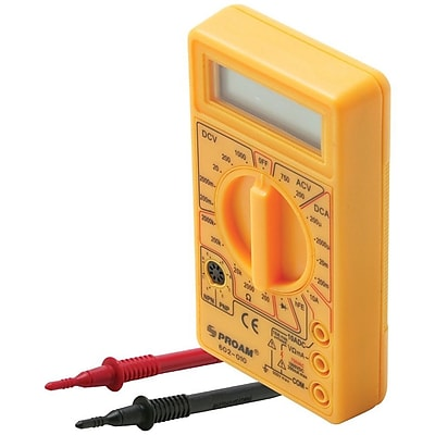 STEREN 602010 200 - 750 VAC Pocket Size LCD Digital Multimeter IM1T08080