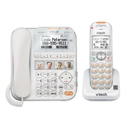 VTech® CareLine SN6417 Single Line Standard Phone, Corded/Cordless Combo, Office Phones