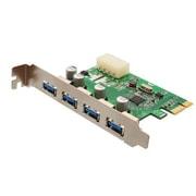 Syba™ SD-PEX20133 USB 3.0 4-Port PCI-e Controller Card
