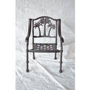 K B Patio Palm Tree Dining Chair
