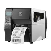 Zebra® ZT230 Monochrome Direct Thermal/Thermal Transfer Desktop Printer, 203 dpi, Black/Silver (ZT23042-T31200FZ)