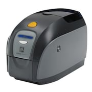 Zebra® ZXP Series 1™ Color Dye Sublimation/Thermal Transfer Desktop Card Printer, 300 dpi, Black/Gray (Z11-000C0000US00)