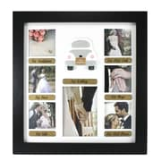 Fetco Home Decor Fiance Wedding Collage Picture Frame