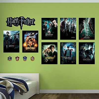 Fathead Harry Potter Movie Poster Peel and Stick Wall Decal