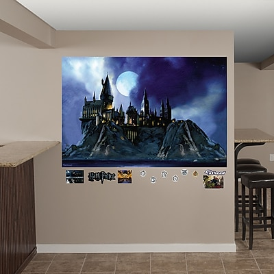 Fathead Harry Potter Hogwarts Castle Peel and Stick Wall Decal