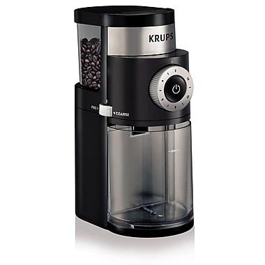 Krups Professional Burr Black Coffee Grinder