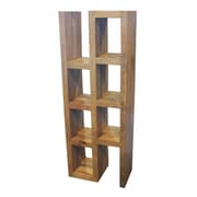 The Urban Port Appealing Display 59'' Accent Shelves Bookcase