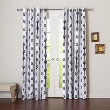 Best Home Fashion, Inc. Curtain Panels (Set of 2); 52'' W x 96'' L