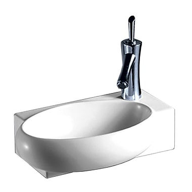 Whitehaus Collection Isabella 16.87'' Wall Mount Bathroom Sink