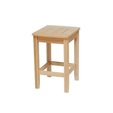 Hershy Way Days End Side Table; Natural
