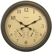 Chaney AcuRite Oversized 24'' Outdoor Clock Combo