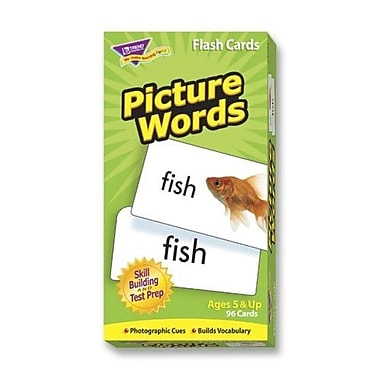 Trend Enterprises Picture Words Skill Drill Flash Cards