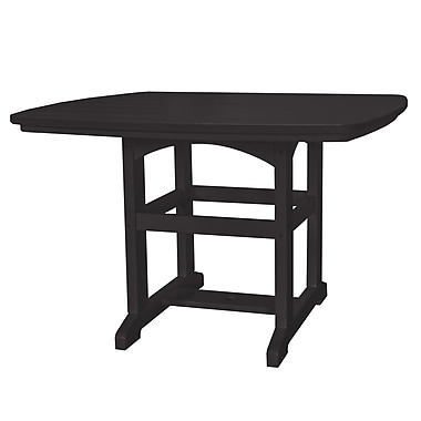 Pawleys Island Dining Table; Black