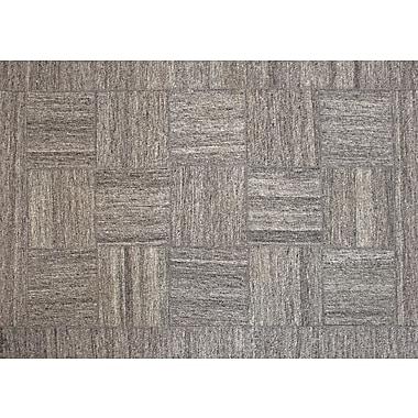 Ren-Wil Patchwork Gray Area Rug; 7'9'' x 9'8''