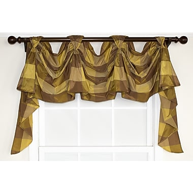 RLF Home So Square Victory Swag Curtain Valance