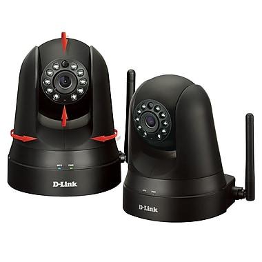 D-Link DCS-5010LKT Wireless Pan & Tilt Day/Night Cam, 2/Pack