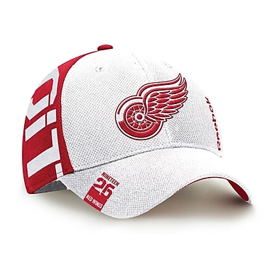 Reebok – Casquette de repêchage de la NHL des Red Wings de Detroit, collection Center Ice, G/TG (0830-04XL)
