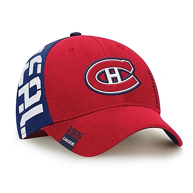 Reebok – Casquette de repêchage de la NHL des Canadiens de Montréal, collection Center Ice (0832-04S)