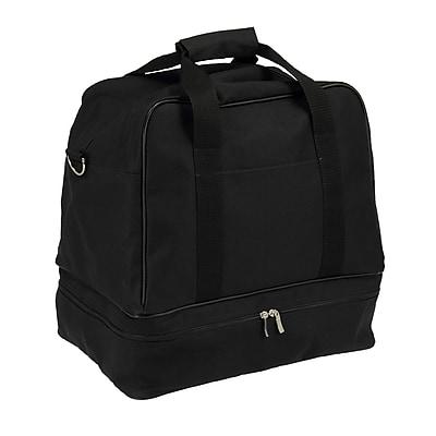 Household Essentials 16.5'' Weekender Bag; Black