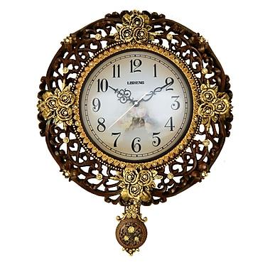 Three Star Pendulum Wall Clock