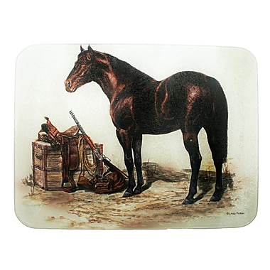 Rivers Edge Horse w/ Saddle Cutting Board