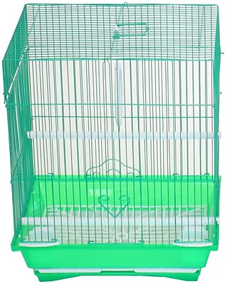 YML Flat Top Medium Parakeet Cage w/