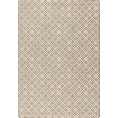 Milliken Imagine Beige Area Rug; Rectangle 7'8'' x 10'9''
