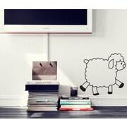 Pop Decors Cute sheep Beautiful Wall Decal