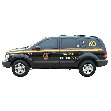 Wallhogs Police K9 Unit Cutout Wall Decal; 15'' H x 36'' W