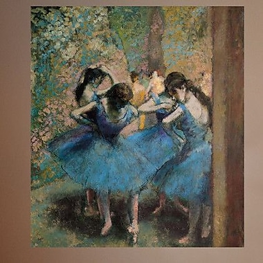 Wallhogs Degas Dancers in (1890) Wall Mural; 42.5'' H x 48'' W