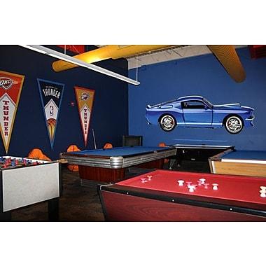 Wallhogs Mustang Fastback II Cutout Wall Decal; 8'' H x 24'' W