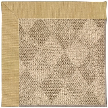 Capel Zoe Machine Tufted Bramble/Brown Indoor/Outdoor Area Rug; Rectangle 5' x 8'
