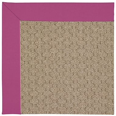 Capel Zoe Machine Tufted Fuchsia Area Rug; Rectangle 2' x 3'