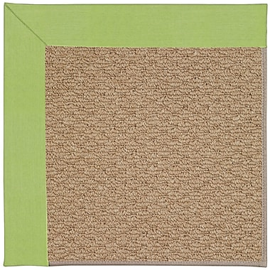 Capel Zoe Machine Tufted Parakeet Indoor/Outdoor Area Rug; Square 8'