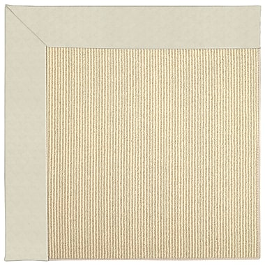 Capel Zoe Machine Tufted Cream/Brown Indoor/Outdoor Area Rug; Rectangle 12' x 15'