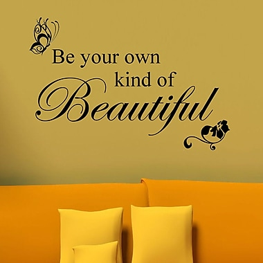 DecaltheWalls Be Your Own Kind of Beautiful Wall Decal