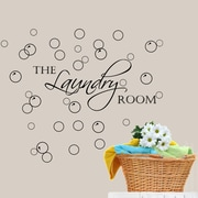 DecaltheWalls Laundry Room w/ Bubbles Wall Decal