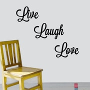 DecaltheWalls Live, Laugh, Love Wall Decal