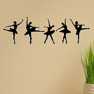 DecaltheWalls Ballerina Dancers Wall Decal