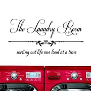 DecaltheWalls The Laundry Room, Sorting Out Life... Wall Decal