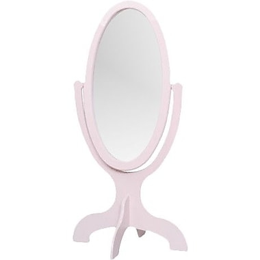 Little Colorado 48'' H x 26'' W Child's Cheval Mirror; Sanded / Unfinished MDF