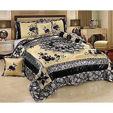 Tache Home Fashion Winter Moon Comforter Set; Twin