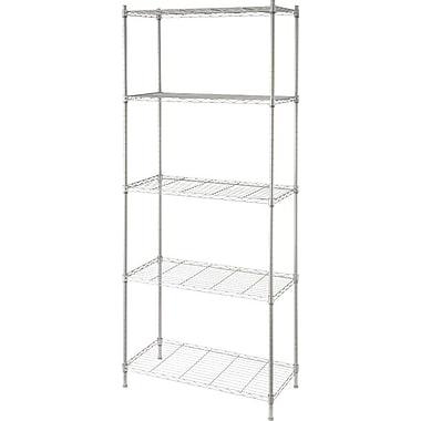 Artiva USA 68'' H Metal Wire Five Shelves Shelving Unit