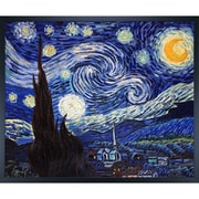 Tori Home Starry Night by Vincent Van Gogh Framed Painting