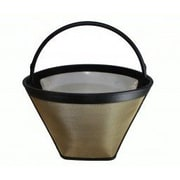Crucial Washable Gold Tone Coffee Filter