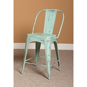 Largo Timbuktu 24'' Bar Stool; Turquoise